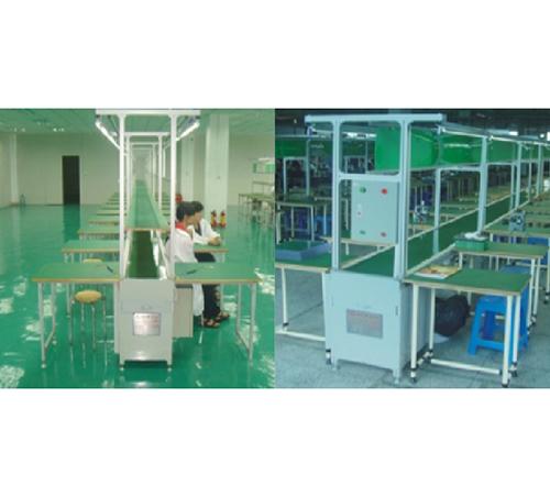铝飞机型PVC流水线AB_凸轮机械手