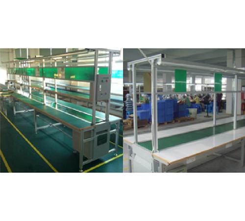 铝直型PVC流水线CD_倍速链流水线