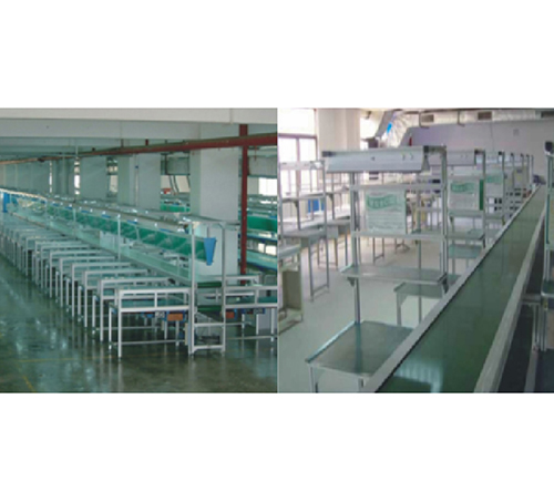 双层PVC流水线AB_流水线厂家