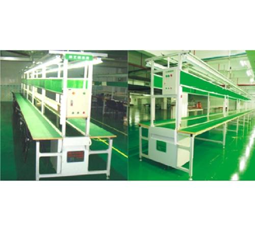 仲恺铝直型PVC流水线AB_凸轮机械手