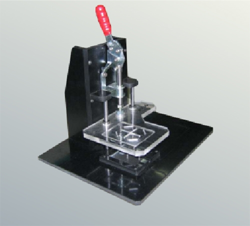 检测夹具1_凸轮机械手